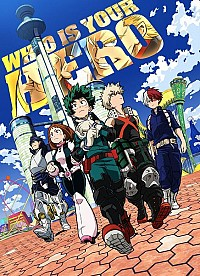 Boku no Hero Academia the Movie: Futari no Hero Cover