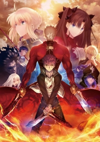 Fate/Stay Night: Unlimited Blade Works (2015) Cover