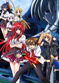 High School DxD New Cover