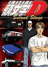 Initial D Second Stage Cover