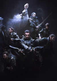 Kingsglaive: Final Fantasy XV Cover