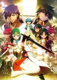 Magi: The Labyrinth of Magic Cover