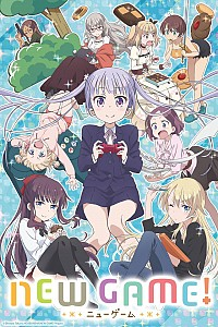 New Game! Cover