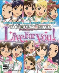 The iDOLM@STER: Live for You! Cover
