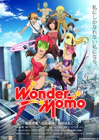 Wonder Momo Cover